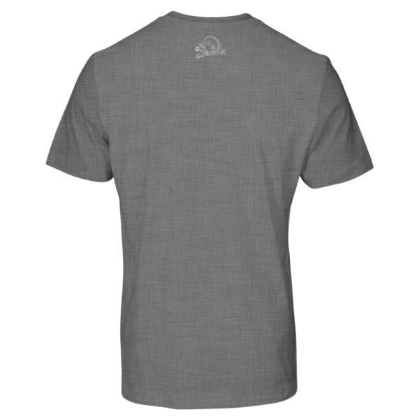 Camiseta Alebrije Hombre Gris Atras