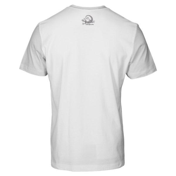 Camiseta Alebrije Hombre Blanca Atras