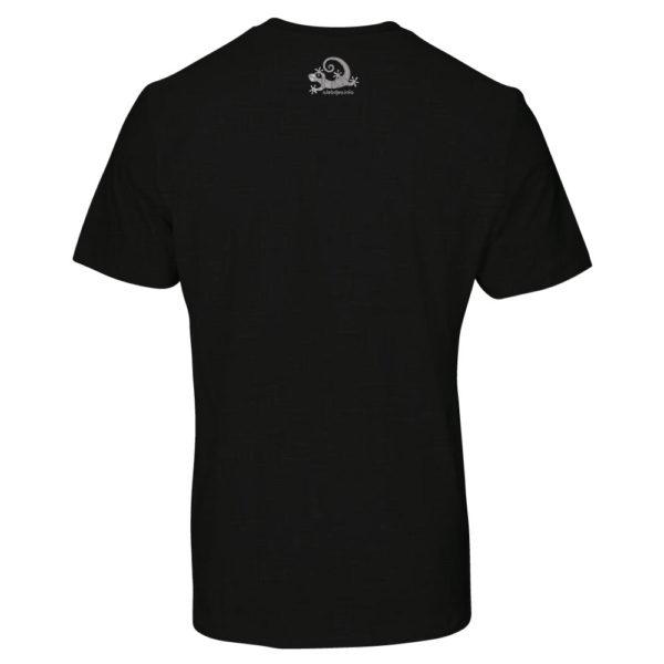 Camiseta Alebrije Hombre Negro Atras