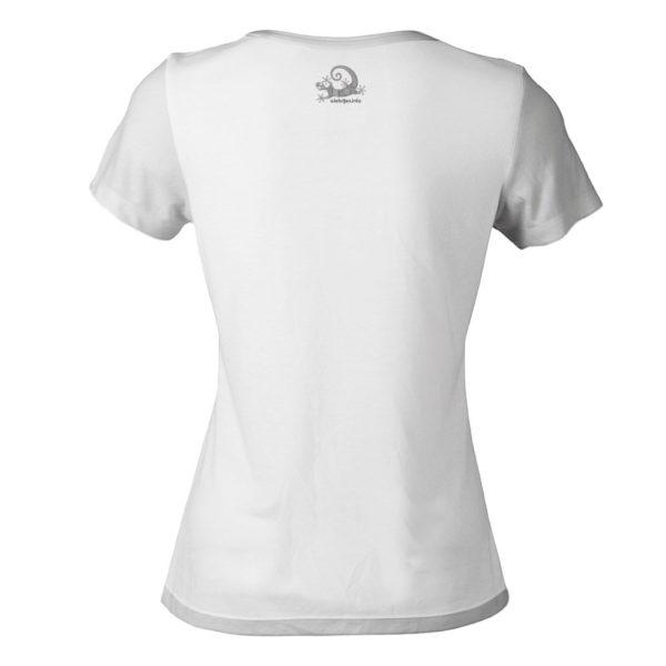 Camiseta Alebrije Mujer Blanca Atras